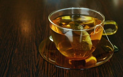 Green tea gives you a small metabolism boost.