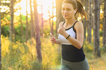 Exercise moderately 5 times a week.