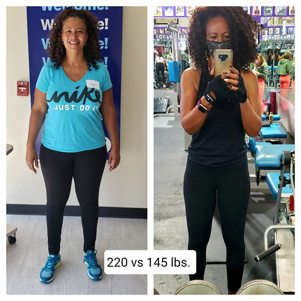 Lisa was able to cut her body fat percentage literally in half by focusing on habits.