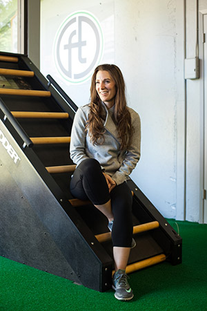 Meet Candy, owner of Fit Theory in Mountain View!